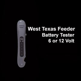 West Texas Feeder Supply Battery Tester