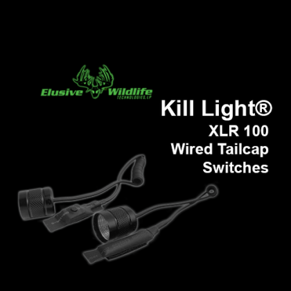 Kill Light® XLR 100 Wired Tailcap