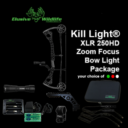 Kill Light® XLR 250HD Bow Light Package
