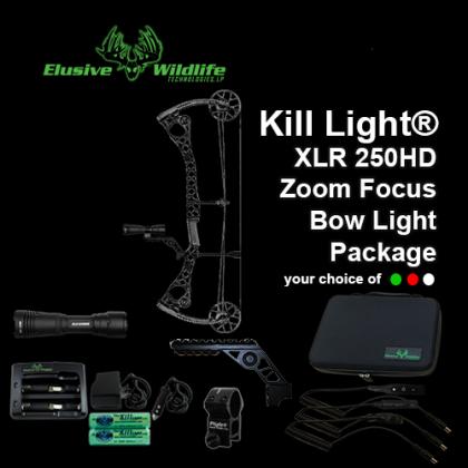 Kill Light® XLR 250HD Bow Light Package**WHITE LED BACKORDERED**