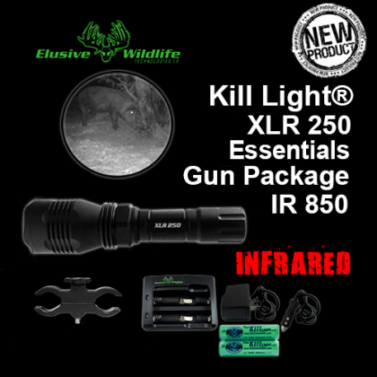 Kill Light® XLR 250 Essentials Package - Single Mode, IR 850/Infrared