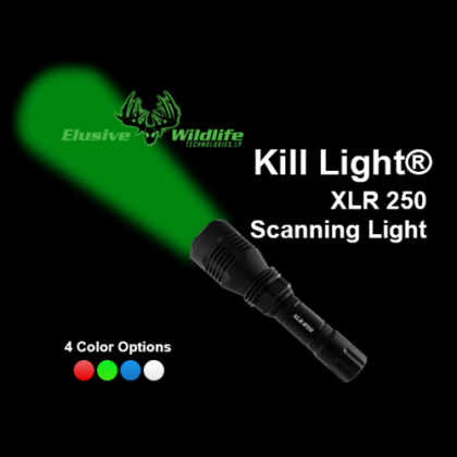 Kill Light® XLR 250 Scanning Light Single or Triple Mode