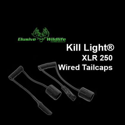 Kill Light® XLR 250 Wired Tailcaps
