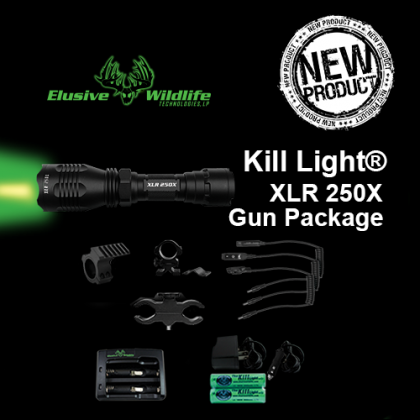 Kill Light® XLR 250X Gun Package