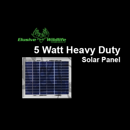 Solar Panel 5 Watt Heavy Duty