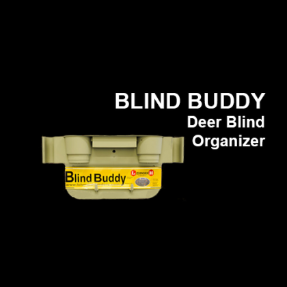 Blind Buddy Deer Blind Organizer