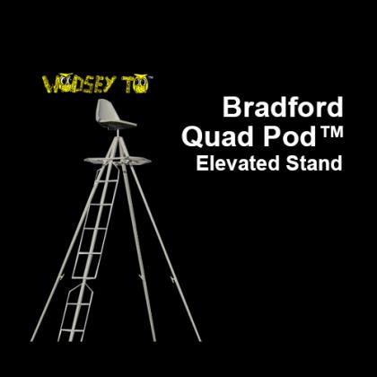 Bradford Quad Pod™ Stand, 14 Feet