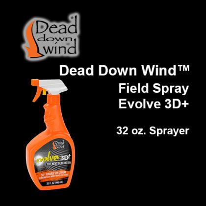 Dead Down Wind™- Field Spray Evolve3D+, 32 oz