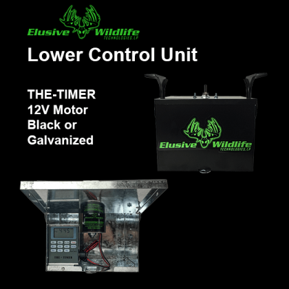 """Lower Control Unit, Box, 12 Volt Motor and """"THE TIMER"""" Control"""