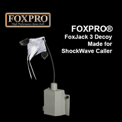 FOXPRO® FoxJack 3 Decoy, Made for ShockWave Caller