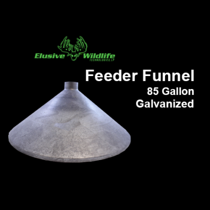 Feeder Funnel - 85 Gallon, Galvanized