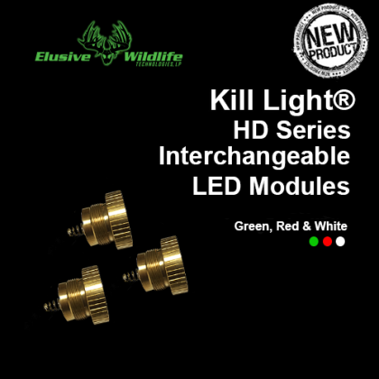 Kill Light® HD Series Swappable LED Modules **WHITE BACKORDERED**