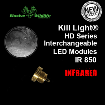 Kill Light® HD Series Zoom Focus LED Module - IR 850/Infrared