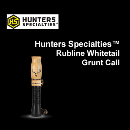 Hunters Specialties™ Rubline Whitetail Grunt Call