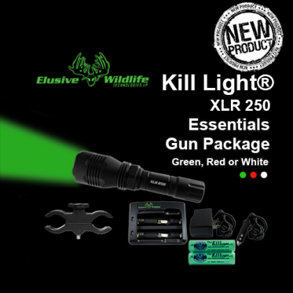 Kill Light® XLR 250 Essentials Hunting Package