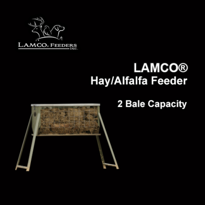LAMCO® Hay Feeders, Galavanized, 2 Bale