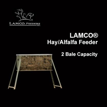 LAMCO® Hay Feeders, Galavanized, 2 Bale