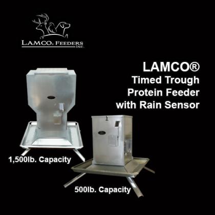 LAMCO® Timed Trough Protein Feeders with Rain Sensor Shutdown