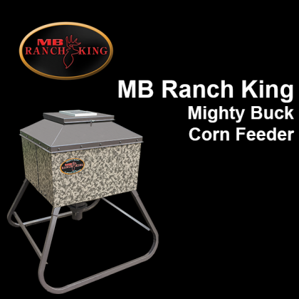 MB Ranch King Mighty Buck Corn Feeder