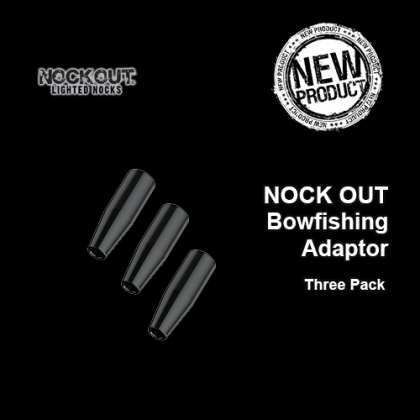 NOCK OUT Bowfishing Adapter - 3 Pack