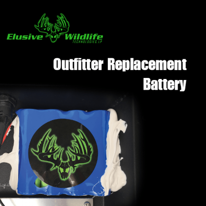 Kill Light® Outfitter Feeder Light Replacement Battery