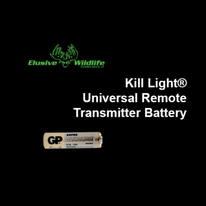 Kill Light® Universal Remote Battery