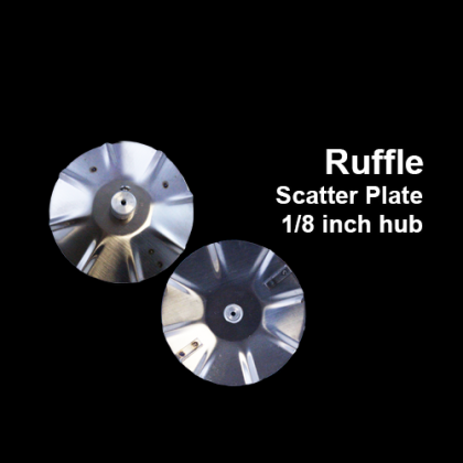 Ruffle Scatter Plate for Feeder