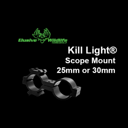 Kill Light® ScopeMount, 25mm or 30mm - Black