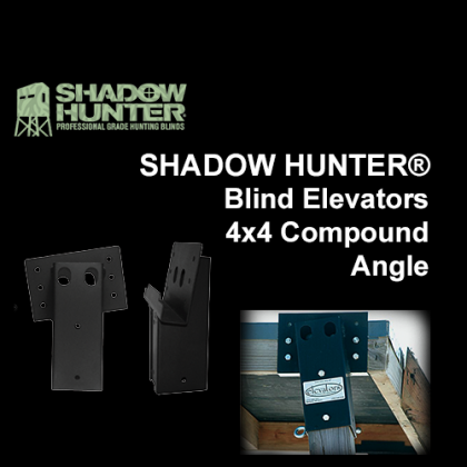 Shadow Hunter Blind Elevators, 4 Pack  Model #1088