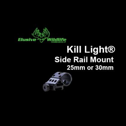 Kill Light® Side Rail Mount, 30 or 25mm