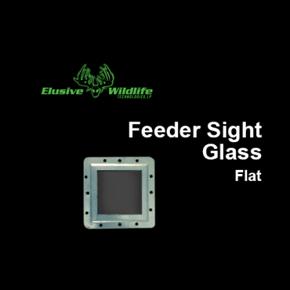 Feeder Sight Glass Flat
