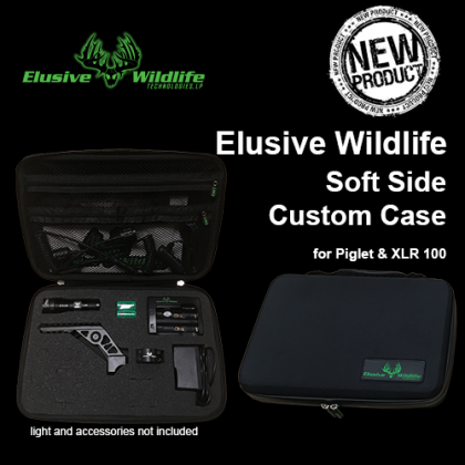 Elusive Wildlife Soft Side Custom Case for Piglet™