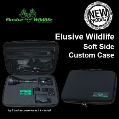 Elusive Wildlife Soft Side Custom Case for XLR 250, XLR 252, and HD Series Lights