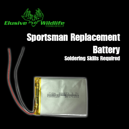 Kill Light® Sportsman Feeder Light Replacement Battery