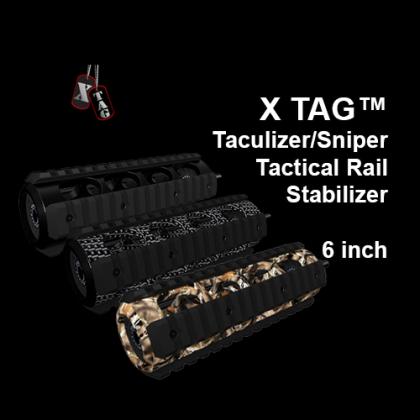 X-TAG™ Taculizer/Sniper Tactical Rail Stabilizer, 6 inch