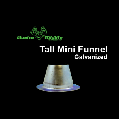 Galvanized Tall Mini Funnel