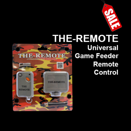THE REMOTE™ Universal Wildlife Feeder Remote Control