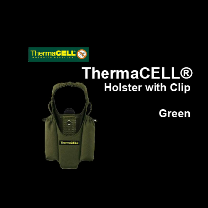 ThermaCELL® Holster with Clip - Green