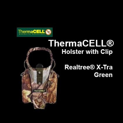 ThermaCELL® Holster with Clip, Realtree® X-Tra Green