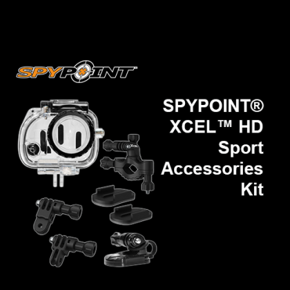 SPYPOINT® XCEL™ Sport Accessories Kit