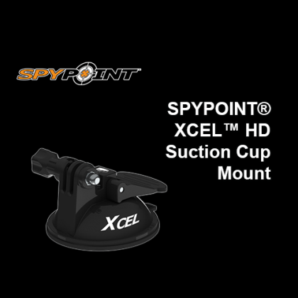SPYPOINT® XCEL Suction Mount