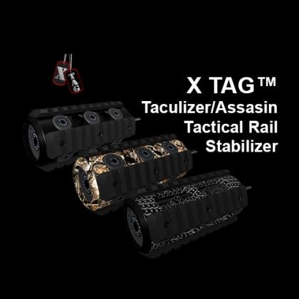 X-TAG™ Taculizer/Assasin Tactical Rail Stabilizer, 4 inch