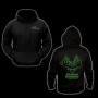 Elusive Wildlife Technologies Pullover Hoodie - Black/Intense Green
